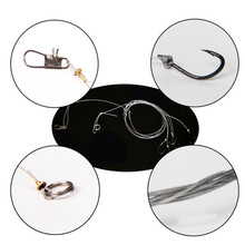 Anmuka 1pcs String Hook 5# 6# 7# 8# 9# 10# 11# 12# Explosion Fishhooks Carbon Steel Bait Holder Fishing Hooks Set