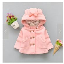 Baby Girl Winter Autumn Boy Cold Cape Clothes Rabbit Solid