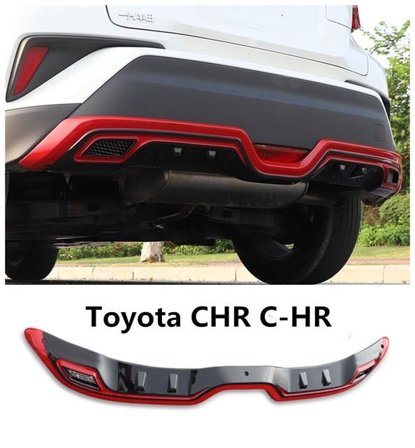 For Toyota CHR C HR 2017 2018 2019 Rear Bumper Diffuser Guard Skid Plate High Quality Car