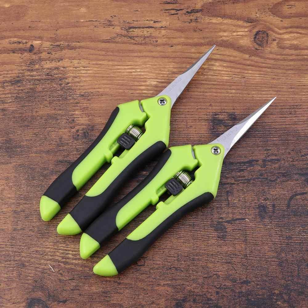 2 шт. пластиковые садовые ножницы ручка в виде ножниц портативный секатор инструменты садовые ножницы для веток садов