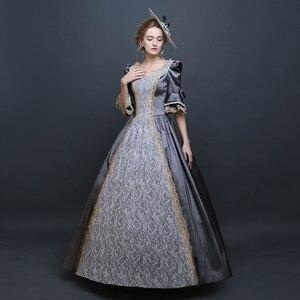 Image 3 - לוליטה גותית שמלת ויקטוריאני שמלת נסיכה מתוק לוליטה תחפושות קוספליי לוליטה סגנון רנסנס שמלה בתוספת גודל אליס