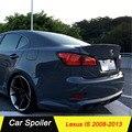Углеродное волокно задний багажник загрузки утка спойлер заднее лобовое стекло крыло для Lexus IS IS250 IS300 IS350 2008-2013 автомобильный Стайлинг