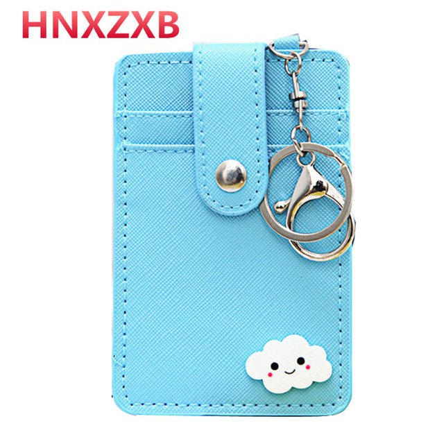HNXZXB Nubuck Leather Mini Tassel Women Card Holder Cute ID Key Card Holders Girl's Fringe Change Coin Purse Keychain 7N02-08