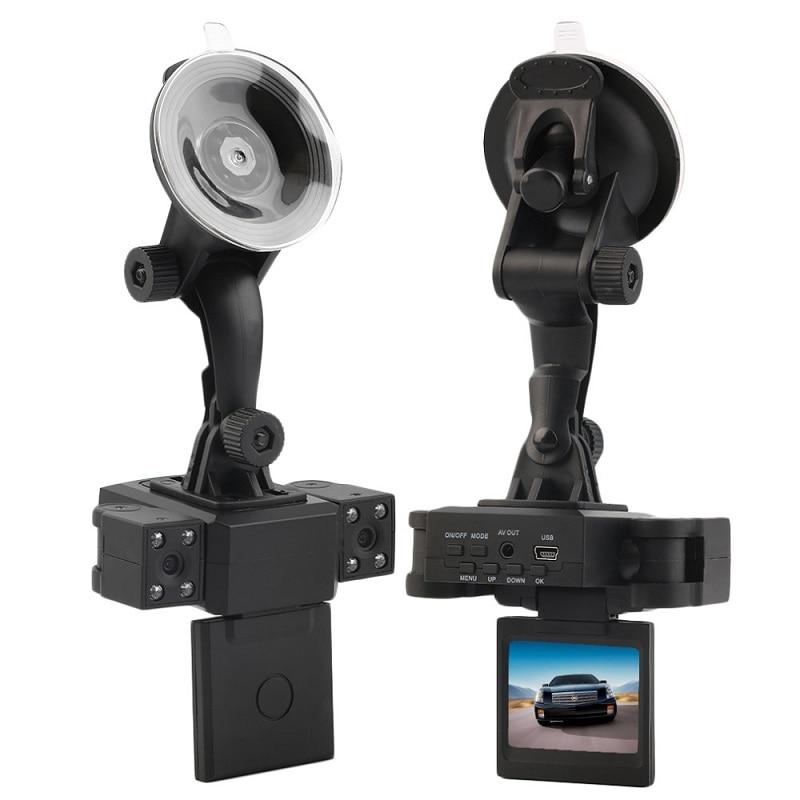 Voiture DVR 1080 P HD 270 degrés rotatif lentille voiture caméra double caméra Cam boîte noire avec arrière 2 Cam véhicule vue caméras de tableau de bord