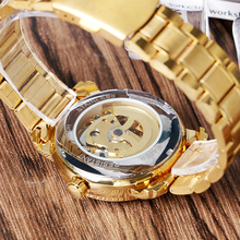 Golden Dress Automatic Mechanical Watch