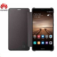 100% Original Flip Case for Huawei Mate 9 PU+TPU Cover Inner Wallet Canvas Lines Stand Leather Shell for Huawei Mate 9
