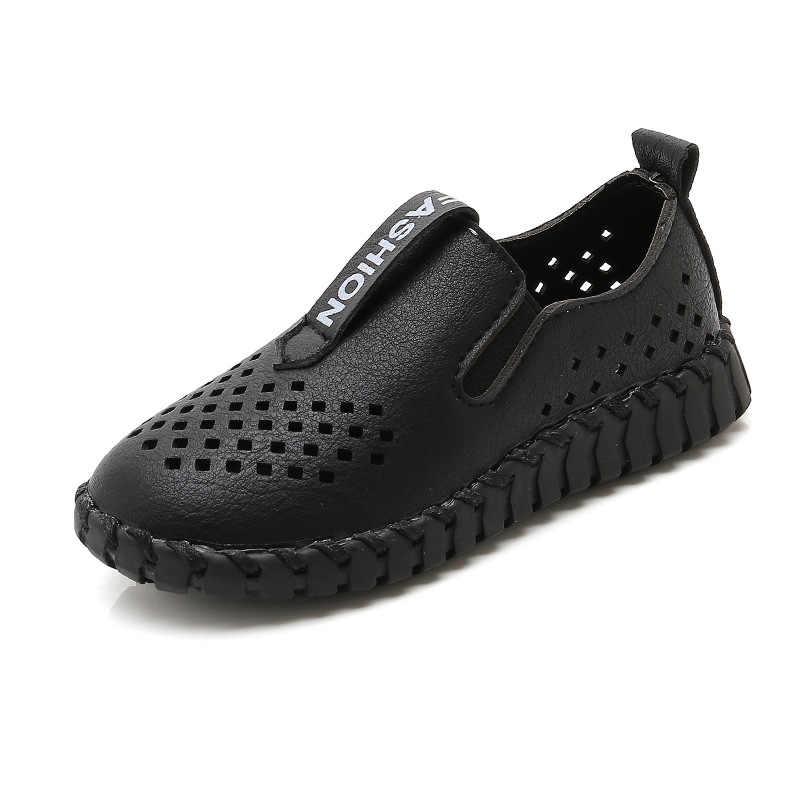 Fashion Boy Leather Shoes Boys PU