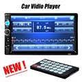 Горячая 2 Din Автомобильный Видео-Плеер DVD 7 ''HD Сенсорный Экран Bluetooth стерео Радио Автомобильный MP3 MP4 MP5 Аудио USB Электроника Авто В Тире