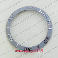 39 7mm New High Quality Luminous Silver Marks And Numbers Ceramic Bezel Men S Watches 70A