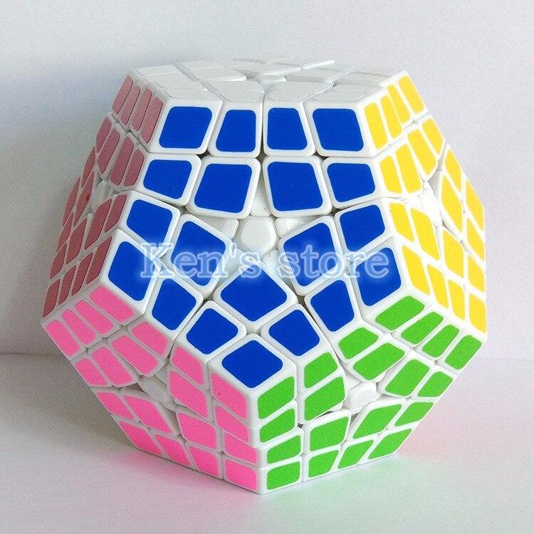 4x4x4 PVC & Matte Stickers Cubo Megaminx