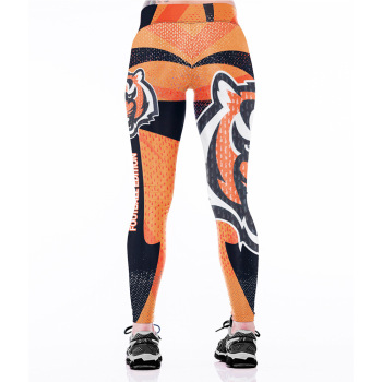 Unisex Football Team Bengals Print Tight Pants Workout Gym Training Running Yoga Sport Fitness Exercise Leggings Dropshipping 1