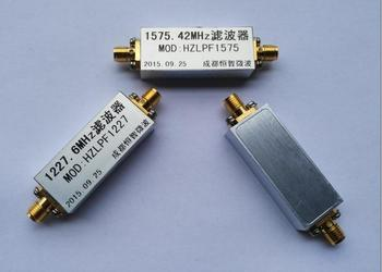 band-pass filter low pass ,LC ,RF ,microwave filter central frequency = 300MHz, bandwidth = 10-50MHz