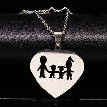 colares mãe femininos família
