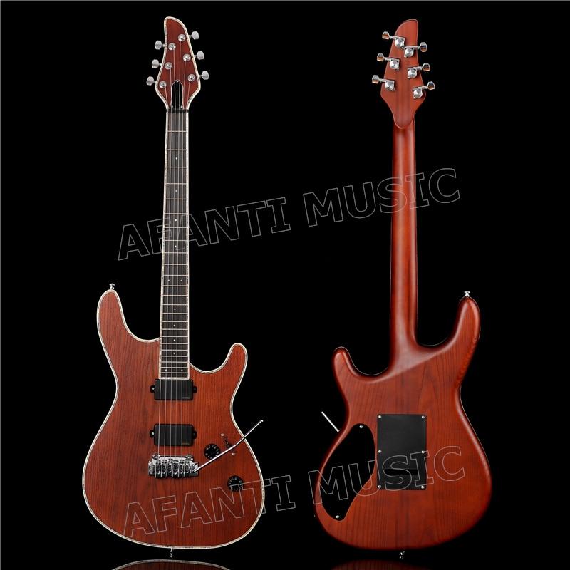 Guitare électrique Afanti style Mayones à col rond (AMO-221)