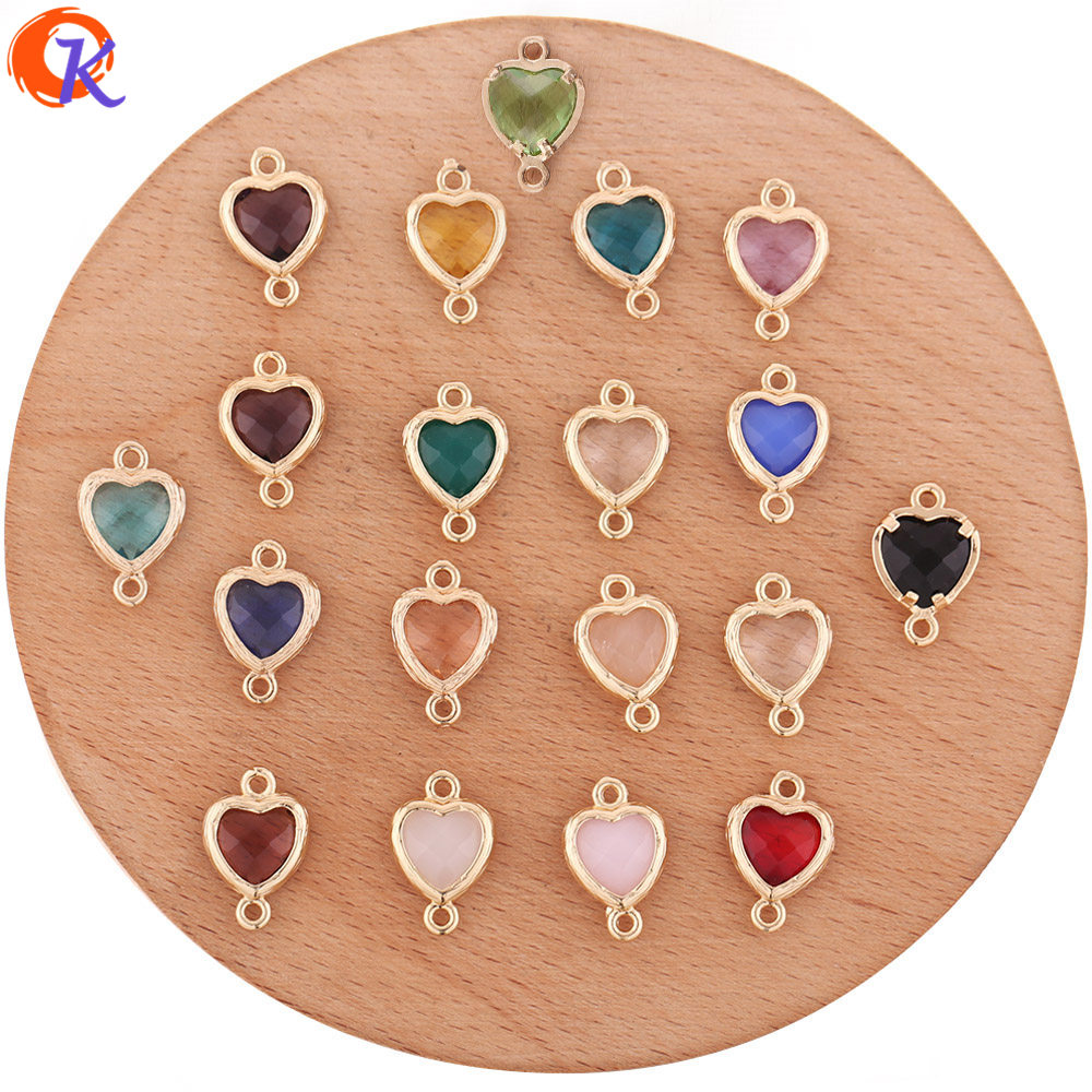 Jewelry-Accessories/charms Cordial-Design Hand-Made/earring-Findings Crystal 50pcs 10--15mm
