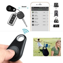 Беспроводная Связь Bluetooth 4.0 Смарт-Анти-потерянный Трекер GPS Локатор Сигнализация Искатели Пульт Дистанционного Спуска Затвора Для Детей Домашние Животные Дети для IOS Andriod