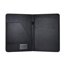 А4 ПУ папка сумка кожа многофункциональный бизнес портфель Padfolio папка чехол для документов Органайзер с бизнес-держатель для карт