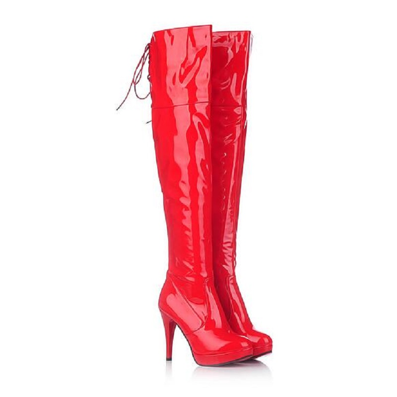 Online Buy Wholesale high heel platform boots from China high heel ...