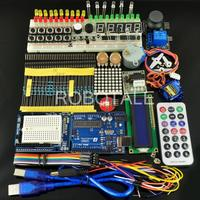 Free Shipping Starter Kit Universal Learning Suite C1 Containing UNO R3 Development Board