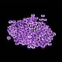 1000 шт./пакет Хрустальные акриловые бусины алмазные конфетти настольные кристаллы центральный DIY украшения для свадебной вечеринки праздничные принадлежности