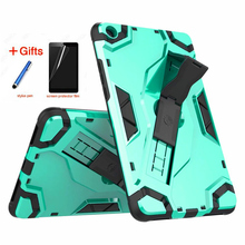 Mi Pad 4 MiPad4 8.0'' Back hard Armor Cover Case 8inch Tablet Case PU+PC Heavy Duty Case For Xiaomi Mi Pad 4 MiPad4 8.0'' tablet ulrt thin case for xiaomi mi pad 4 mipad4 8 inch pu leather tablet protector pc stand smart cover for xiaomi mi pad 4 8 0 cover