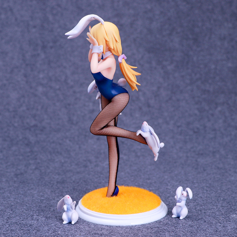 Anime Infinite Stratos Sexy Figure Charlotte DE Noah Do Bunnies Anime Sex Girls PVC Action Figure Brinquedos Adult Model Sex Toy