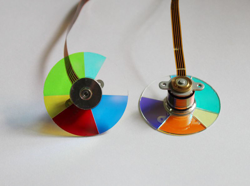 Groothandel 100% Nieuwe Projector Kleurenwiel Voor ACER X1120H X2120H Gratis Verzending-in Projector Accessoires van Consumentenelektronica op  Groep 1