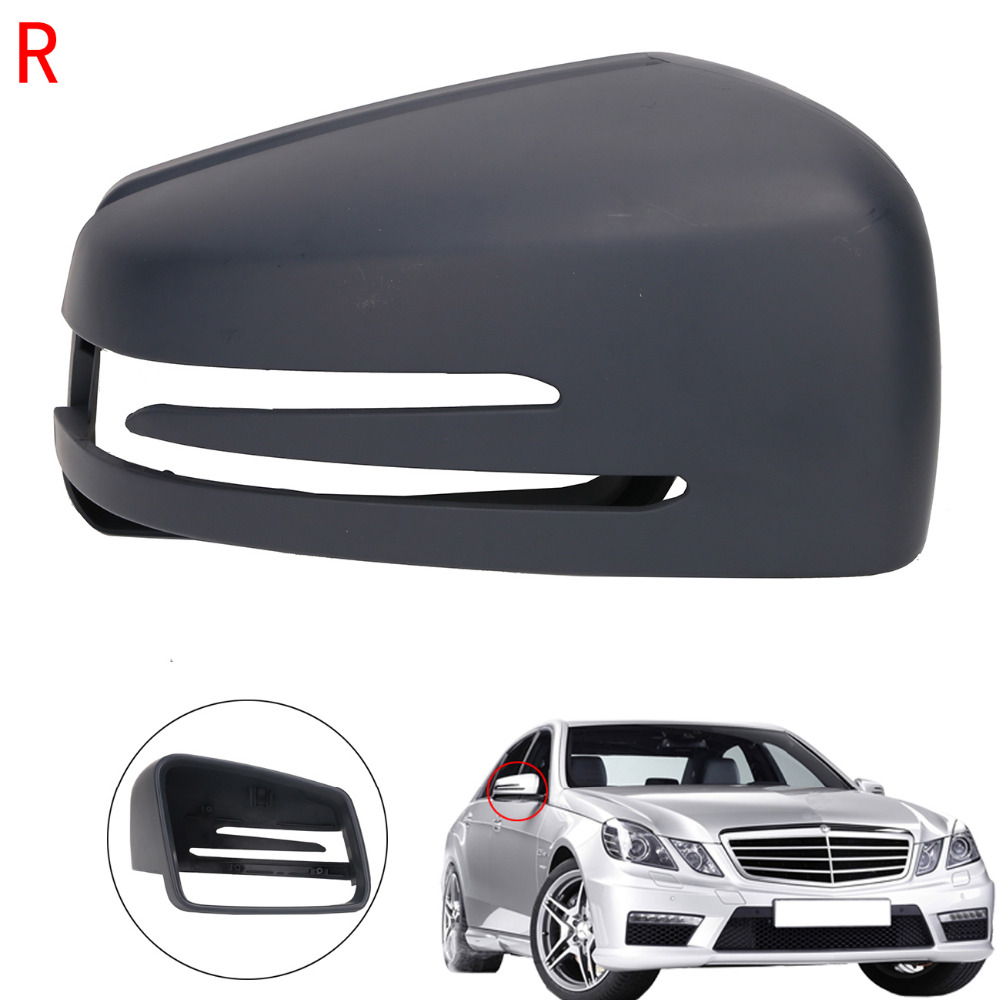 Right Side Door Wing RearView Mirror Cover Cap For Mercedes Benz MB E C S Class W212 W204 W221 C200 C300 S350 S500 E300 #WN181-R