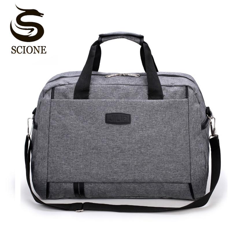 Top Quality Men Large Capacity Multi-functional Hand Bag Waterproof Women Luggage Duffle Overnight Weekend Travel Bags