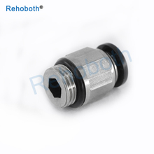 Pneumatic Fittings Quick Connector PC-G Threaded Straight Through Tube