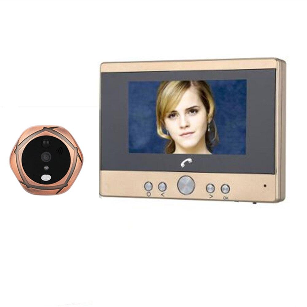 4.3 Inch LCD Display WIFI Peephole Viewer IR Night Vision Video Door Phone 4.3 Inch LCD Display WIFI Peephole Viewer IR Night Vision Video Door Phone
