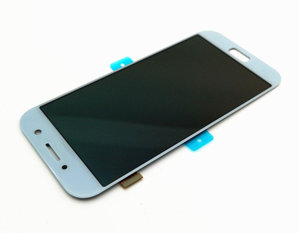 HTB11.J8JFzqK1RjSZSgq6ApAVXaM Can adjust brightness LCD For Samsung Galaxy A5 2017 LCD A520 SM-A520F LCD Display Touch Screen Digitizer Assembly