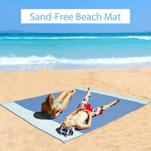 Обновления Магия коврик для песка Пляж sandless открытый водоустойчивое одеяло путешествия летние каникулы Кемпинг sandfree коврик пляжное одеяло
