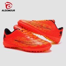 ALDOMOUR Soccer Cleats For Men Botas de fútbol Original Traning Football Botas con tacones Mens Outdoor Training Zapato