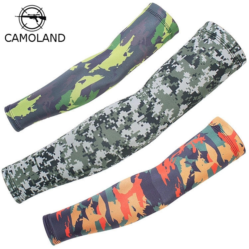 Camouflage CS Military Armwarmer Cool Cover Cycling Sleevelet Arm Sun Protection Arm Sleeves UV Resistance Unisex Covers