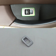 Car Accessories Interior LHD ABS Rear Trunk Gate Switch Button Cover Trim For BMW X1 2016 Car-styling