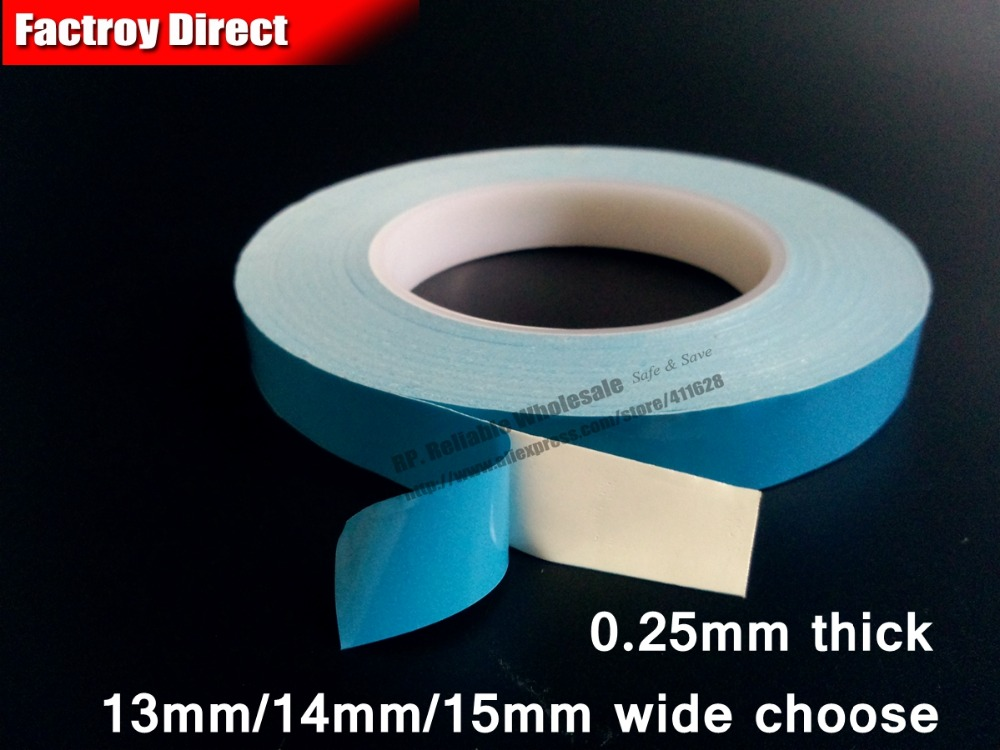13mm/14mm/15mm wide choose * 20M Double Sided Thermal Conductive FiberGlass Tape for LED Strip Light Chipset IC Heat Sink