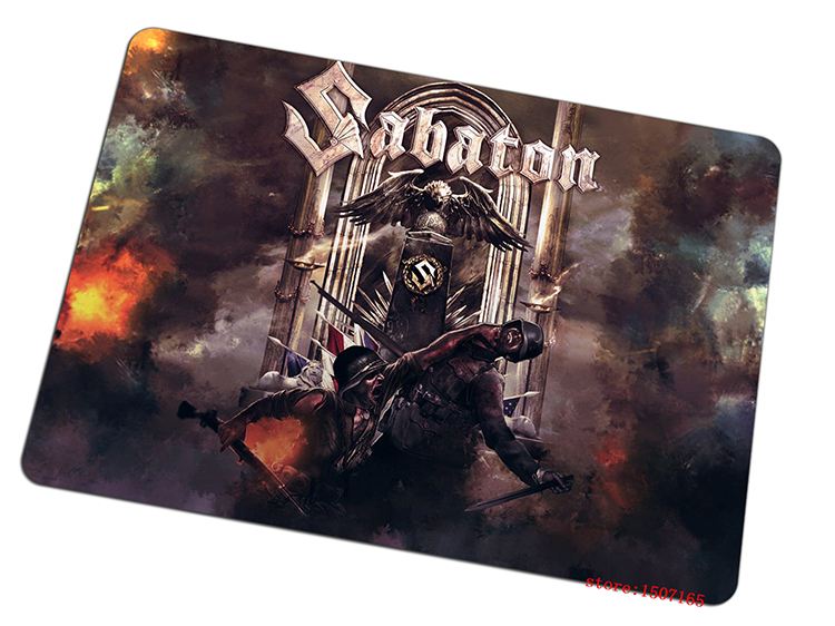 sabaton mouse pad HD print gaming mousepad cheapest gamer mouse mat pad game computer desk padmouse keyboard large play mats