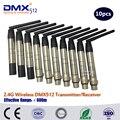DHL быстрая бесплатная доставка супер WDMX Беспроводная DMX512 система беспроводной передатчик по протоколу DMX