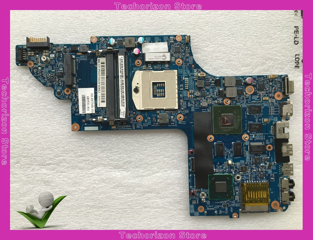 685551-001 for HP DV6-7000 630M/2GB DDR3 Laptop Motherboard s989 Tested working 683495 001 for hp probook 4540s 4441 laptop motherboard pga989 hm76 ddr3 tested working