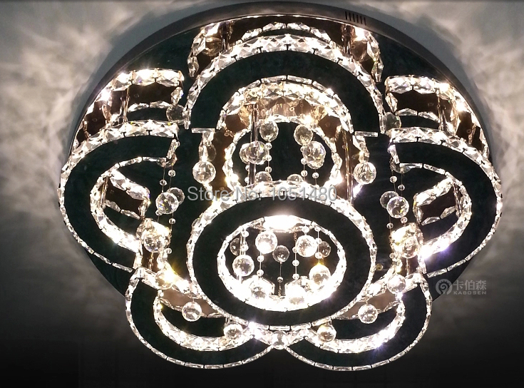 new design ceiling LED chandelier crystal lamp home lighting Dia60cm