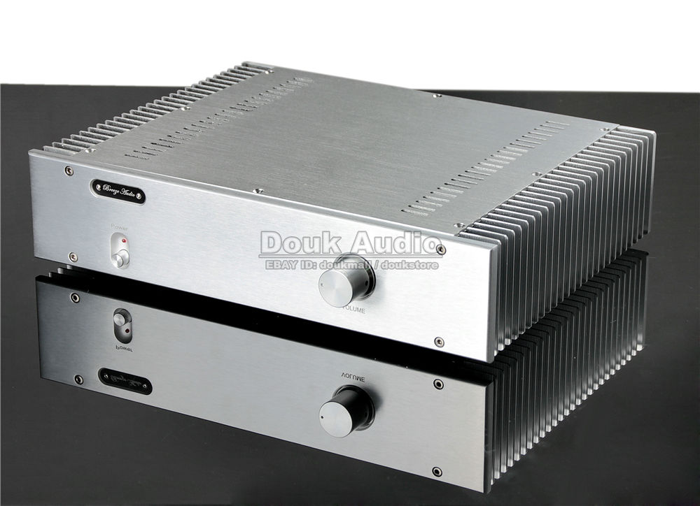 Music Hall Hi End Power Amplifier 2.0 Channel Stereo HiFi Amp 130W*2 Reference Burmester 933 ...