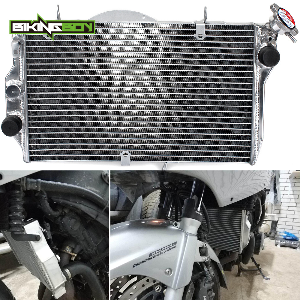 BIKINGBOY Aluminium Core Engine Radiator Cooling Cooler for HONDA CBR1100XX CBR 1100 XX Black Bird 1999 2005 2000 2001 02 03 04-in Engine Cooling & Accessories from Automobiles & Motorcycles    1