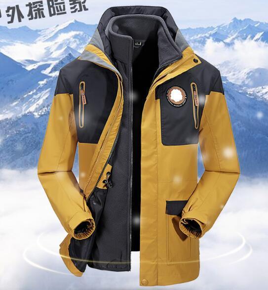 Hombres chaqueta de invierno Hombre Cálido Impermeable chaqueta