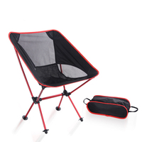5 Colors Lightweight Fishing Chair Professional Folding Camping Stool Seat Chair Portable Fishing Chair For Picnic