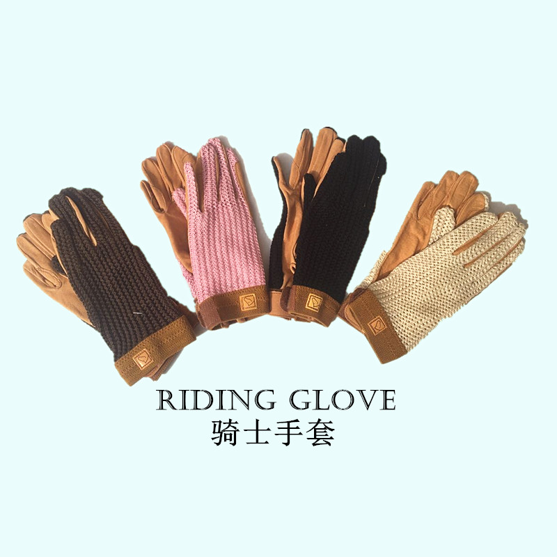 For Women Top Quality Riding Gloves Breathable Equestrian Gloves