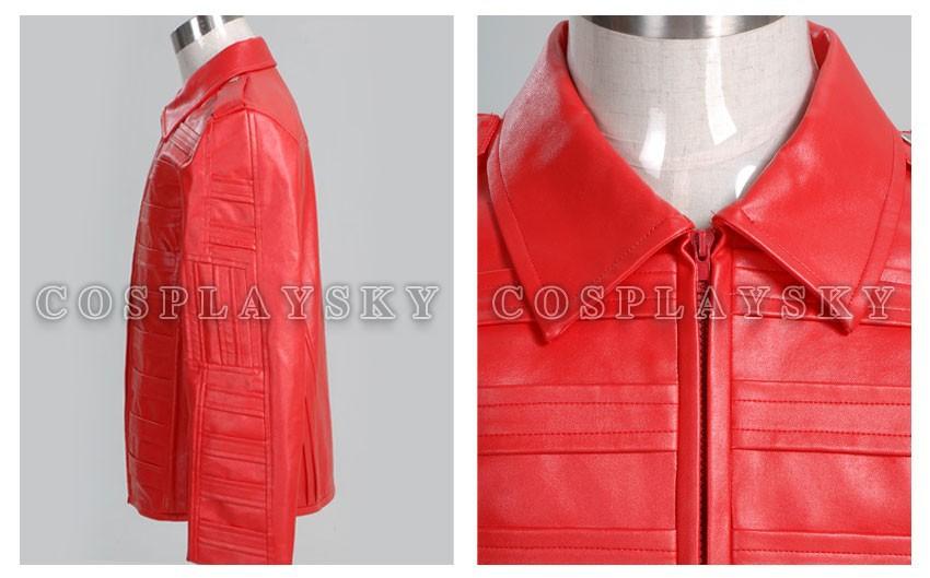 Michael Jackson Man in the Mirror Pleather Jacket Costume_02