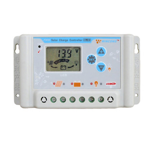 Image 1 - 10A/20A/30A 12V 24V 36V 48V 60V LI ION NI MH LiFePO4 Batterie Solar panel Laderegler