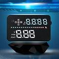 """New Car HUD A3 3.5 """"pantalla GPS Head Up Display Con Kmh Velocímetro/MPH Advertencia de Exceso De Velocidad Brújula Compatible Para OBD1 OBD2 Coche"""