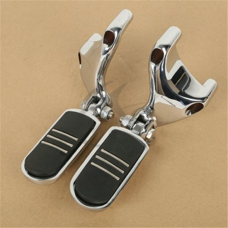 Motorcycle Passenger Rear Foot Peg Footpeg /Peg Mounting For Harley Sportster 883 1200 XL 2004-2013